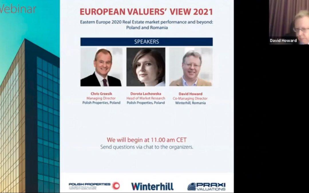 European Valuers' View 2021 | Polska iRumunia
